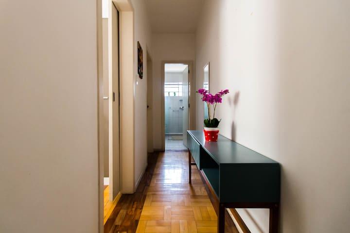 Conforto na casa de uma vovó moderna