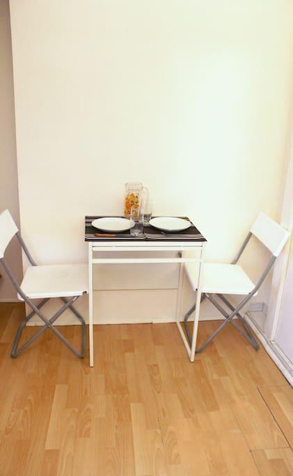 Table à manger rallongeable