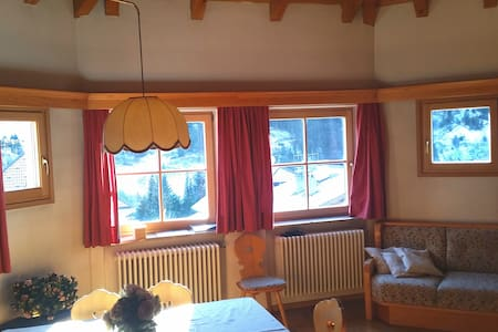 Apartment in Val Gardena with view of Sassolungo - Santa Cristina Valgardena - Lejlighed