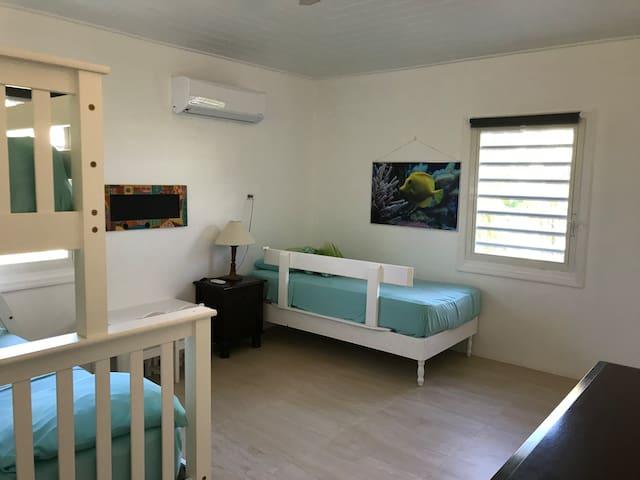 Kids bedroom twin bed
