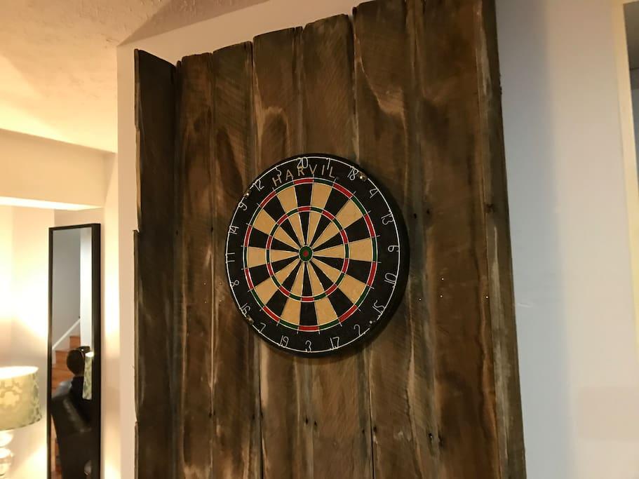 Dart Board (Basement)