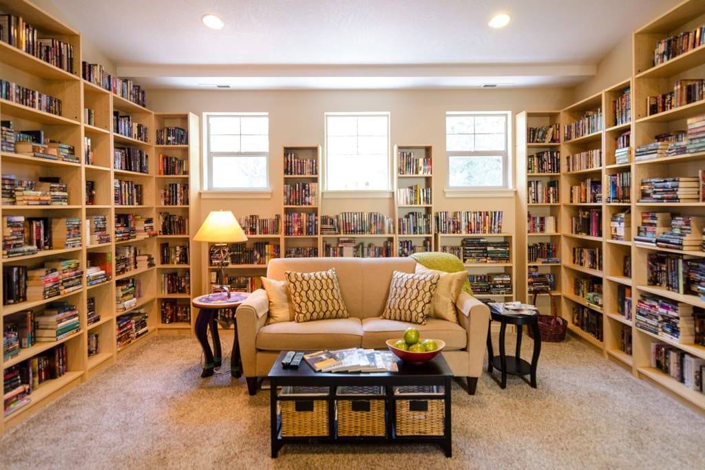 Is anything better than sitting in a room full of books? No. Nope. Nothing.