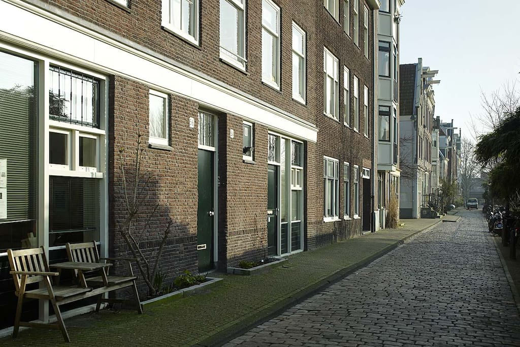 The house at the gracht