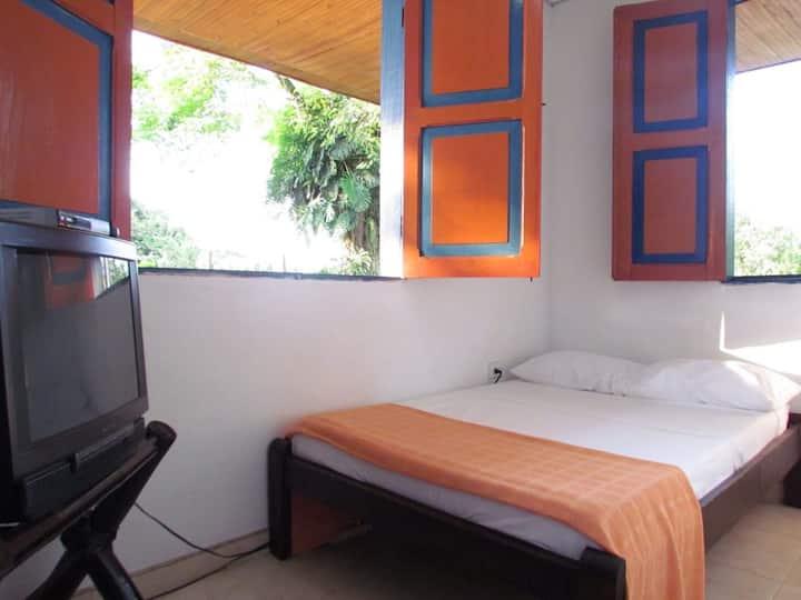 Hermosa Finca Campestre La Paloma 2, Habitación #1