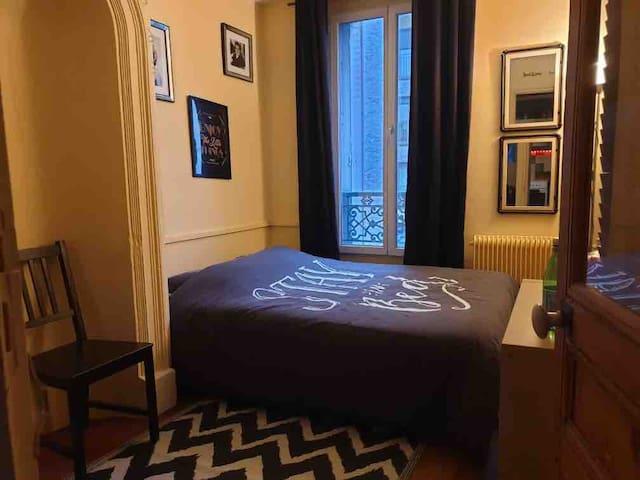 Chambre pour 2 chez l'habitant (+ 1 canapé salon)