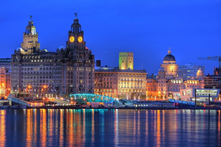 City centre, transport links nearby, very peaceful - Liverpool - Byt