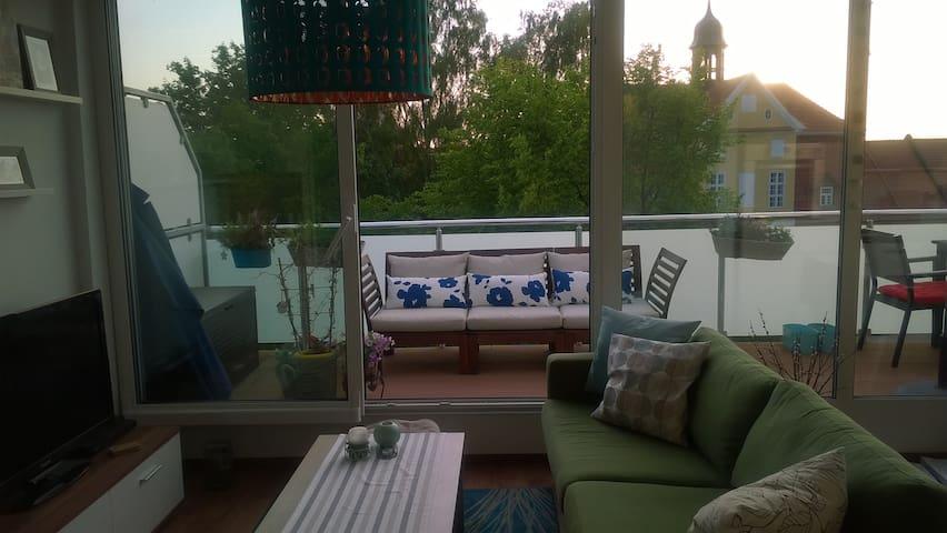 Schöne Wohnung nahe am Ostseestrand - Barth - Apartment