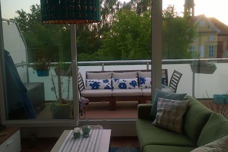 Schöne Wohnung nahe am Ostseestrand - Barth - Lägenhet