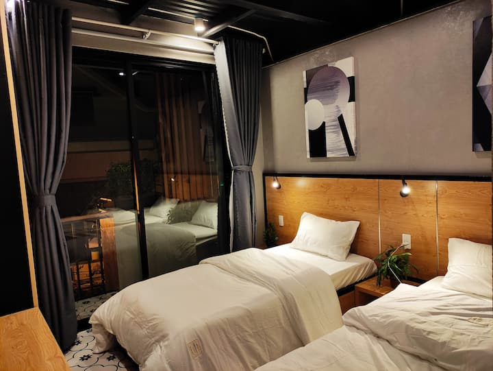 City View-The Nest Quảng Bình-Twin Room 204