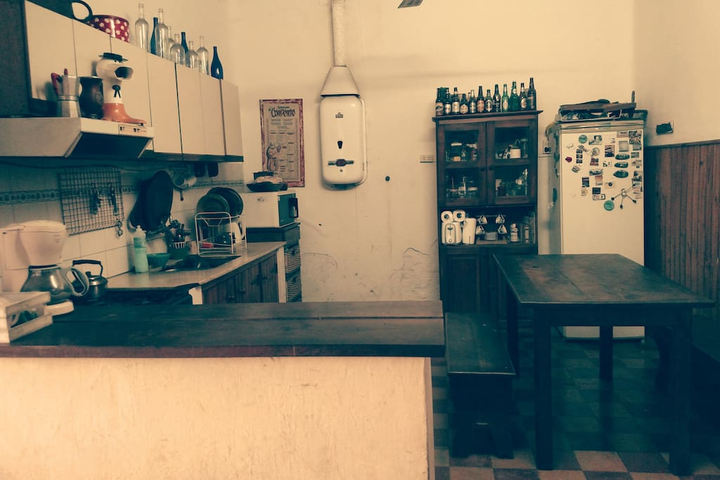 galeria con cocina amplia