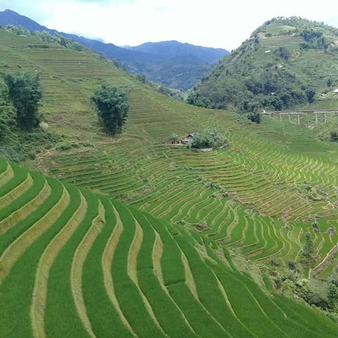 I am sapa treking gude homestay my name is khu ...