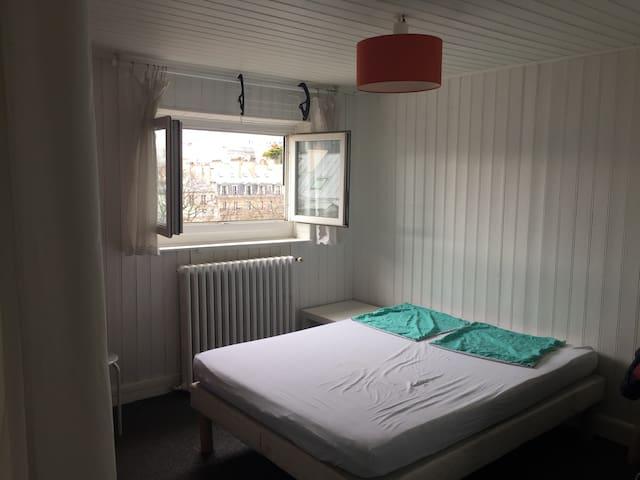 Studio sans vis à vis à 2 min de la Madeleine - Paris - Apartamento