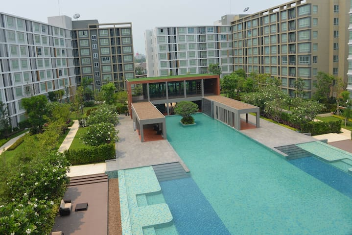 This is a new room fully furnished - Chiang Mai - Apto. en complejo residencial
