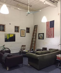 Private Room in Loft Space - Providence - Loft