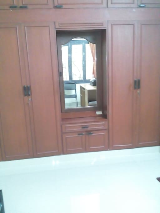 Wardrobe & Dressing mirror