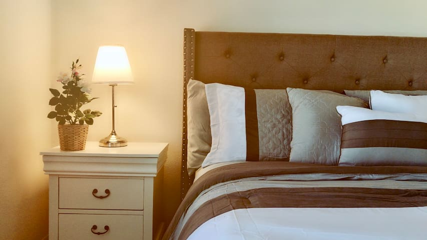 South Coast Springs   Master Bedroom