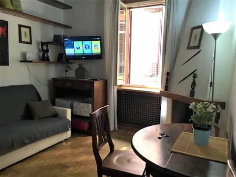 Near Vatican, delightful apartment in Trastevere