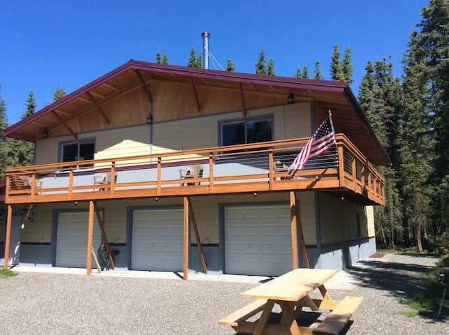 Spacious,Soldotna Moose Meadows Home (One Fish)