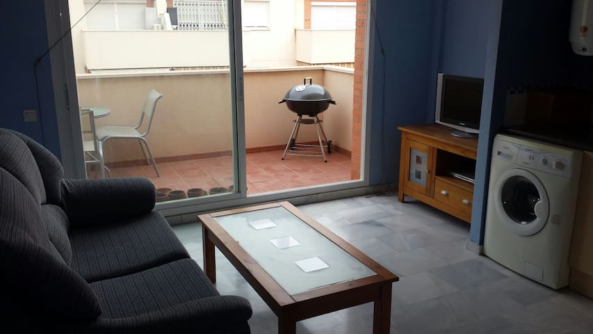 Apartment with balcony & 20mtr pool - Roquetas de Mar - Apartment