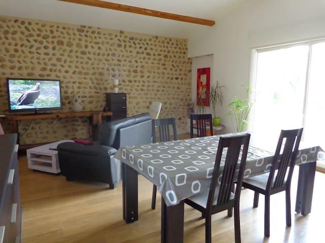 Maison individuelle au coeur des vignes
