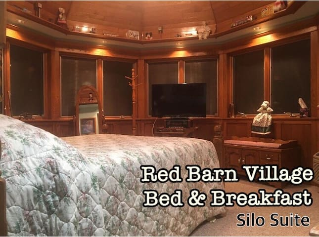 Silo Suite at Red Barn Village / Romantic Escape!