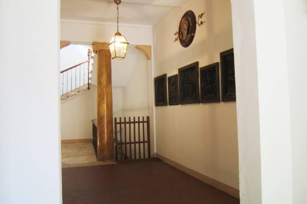 Questo è l'atrio del palazzo