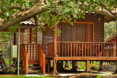 WOODEN HOUSE + Scooter + 4* Hotel Membership - Krong Preah Sihanouk, Sihanoukville, KH