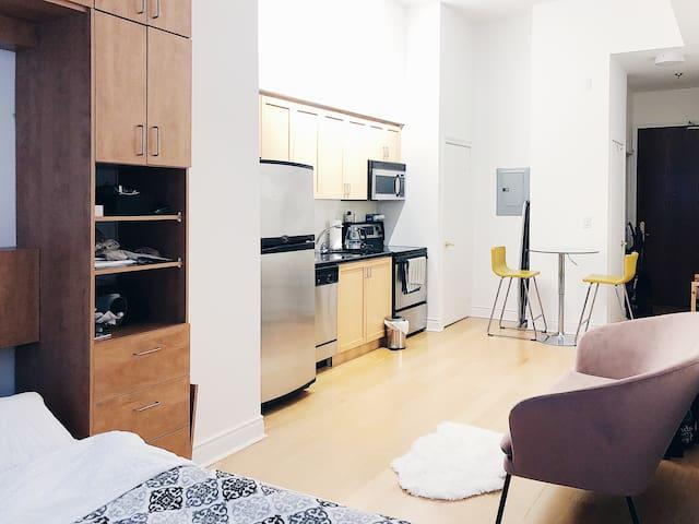 Cozy European Style Studio