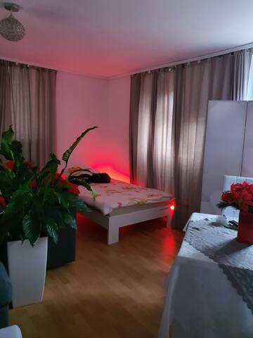 komfortabel Zimmer Nr.zwei ,nah zum Zentrum