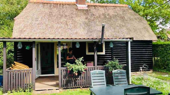 Heerlijke rietgedekte vakantiewoning in Giethoorn