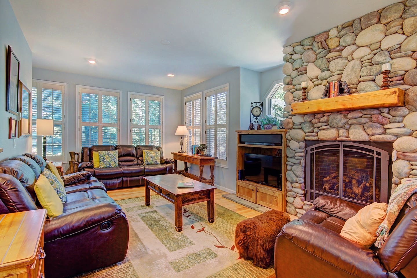 Bear Pine Chalet - a SkyRun Breckenridge Property - Stay warm and cozy by the elegant gas fireplace