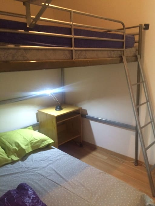 chambre avec mezzanine pour enfants