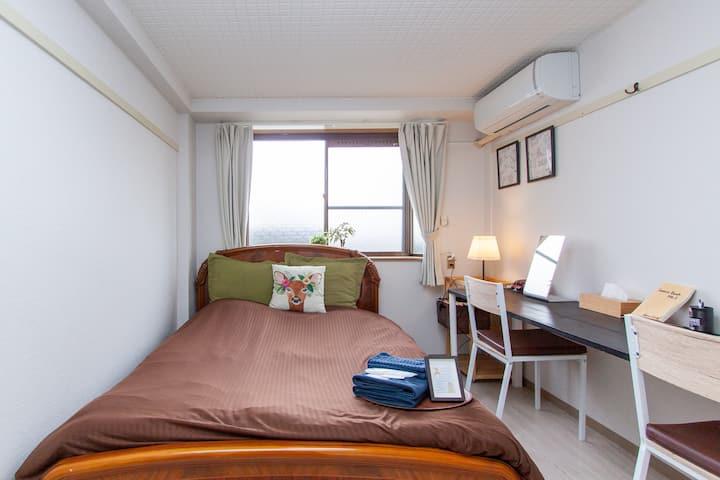 ターボハウス桜町115 :  JR奈良駅から9分、観光や長期滞在にも◎、綺麗なお部屋