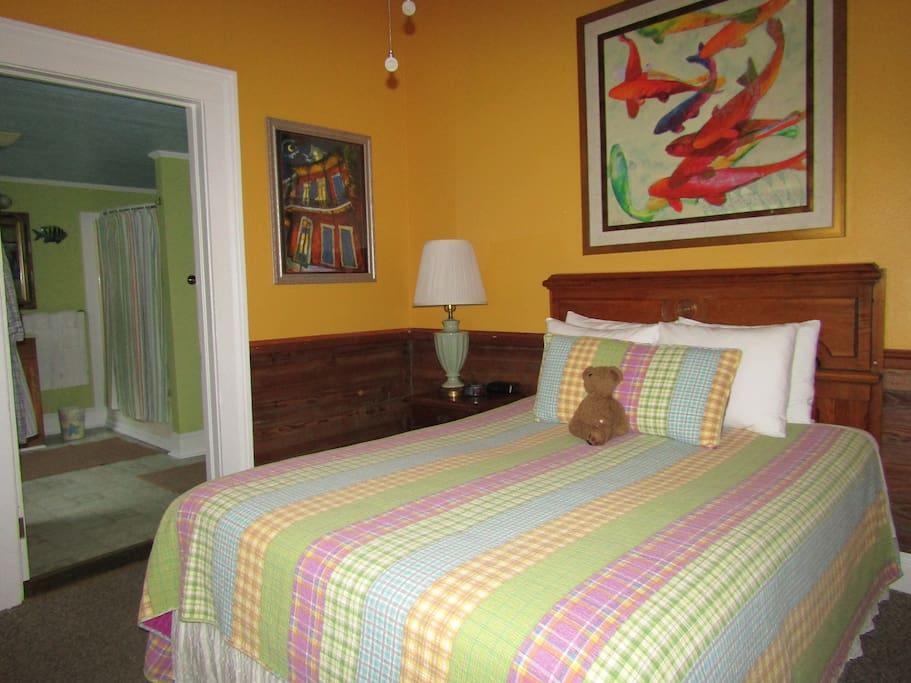 Crescent city guest house chambres d 39 h tes louer la for Chambre hote orleans