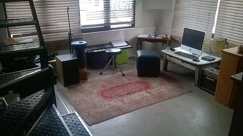 departamento tipo loft 2 ambientes parque chas
