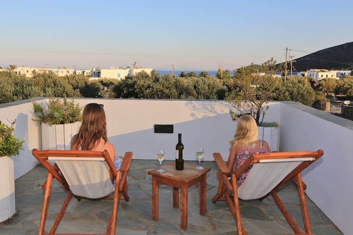Edem Hotel Apartments -Maisonette Standard - Platis Gialos - Bed & Breakfast