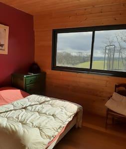 2 chambres à  la campagne face aux Pyrénées