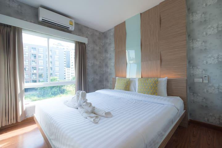 304 Cozy stay near Hip street Nimman Rd. - Chiang Mai - Appartement en résidence