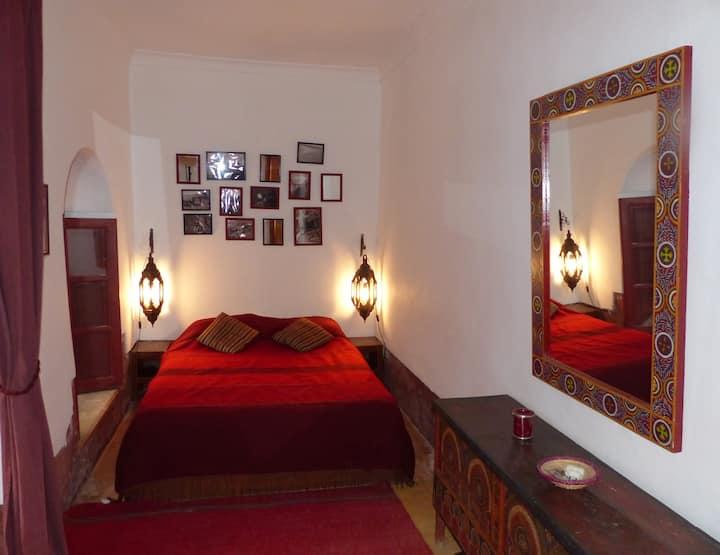 The Fig Room of the Dar el Calame riyad