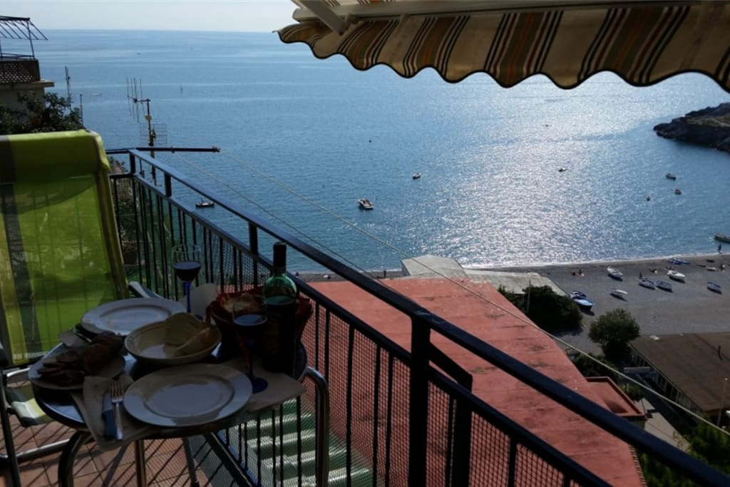 Lunch for two on Casa Rosalia balcony