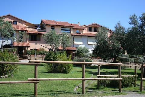 Appartamento nel residence Le Carbonaie a Capalbio
