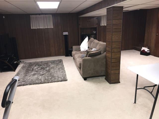 Entire basement