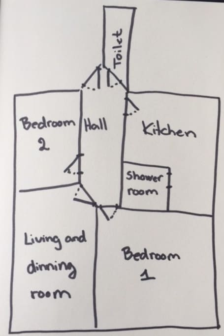 Selfmade Floorplan