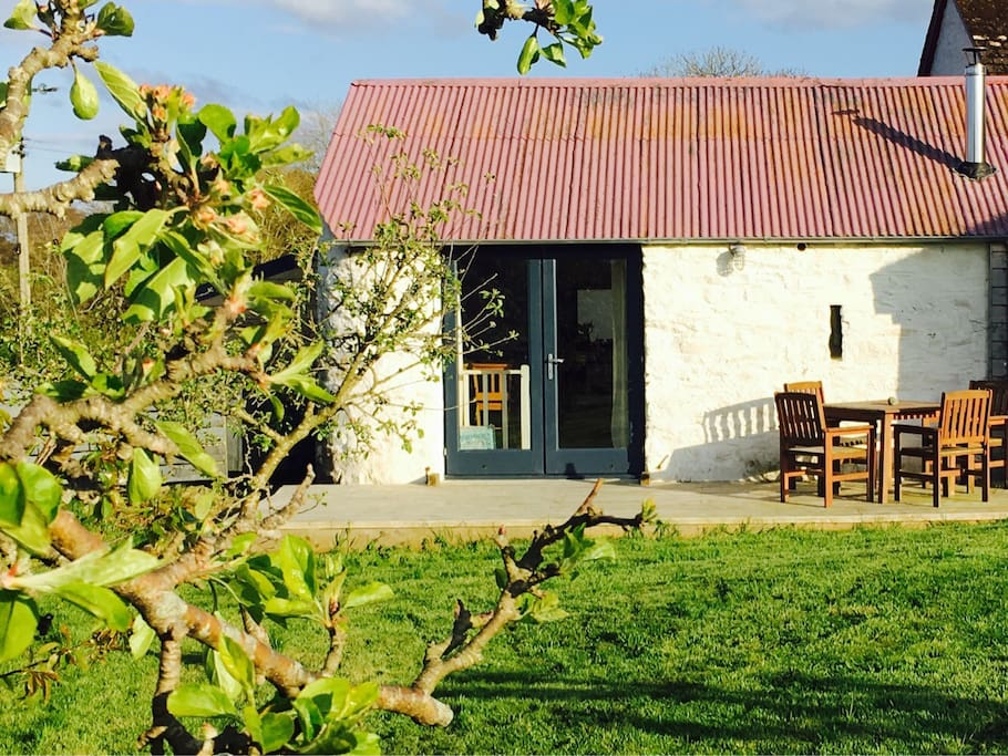 Our converted dairy barn is a cosy and contemporary place to stay.