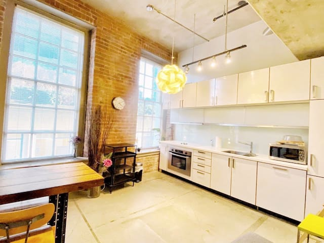 one of a KIND loft in heart of downtown!
