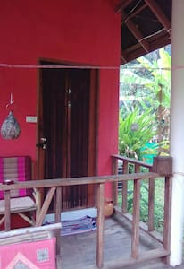 Peaceful  Bungalow in Jungle hammock Garden