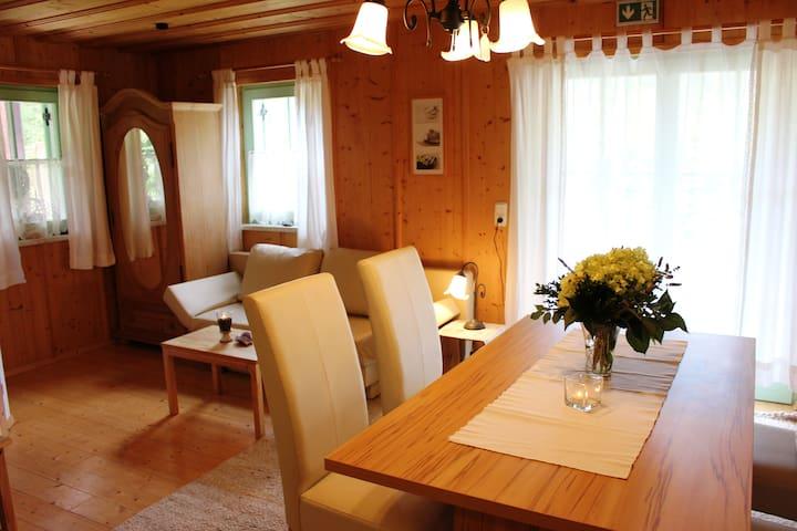 Apartment mit Zirbensauna/Wellness und Bergblick - Hinterstoder - Pension