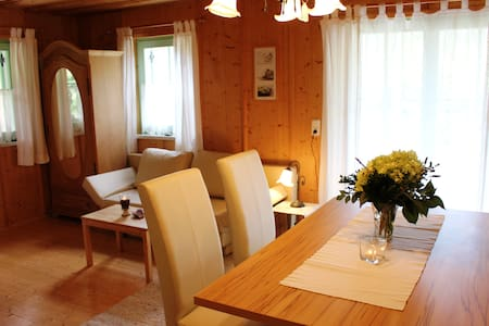Apartment mit Zirbensauna/Wellness und Bergblick - Hinterstoder - Pension
