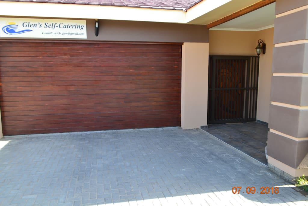 Front Entrance and Garage