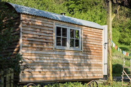 Tranquil, cosy, rural shepherds hut - Wigmore - Hut - 1